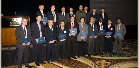 Each year EDS's vast awards program recognizes the outstanding work of our members around the globe.